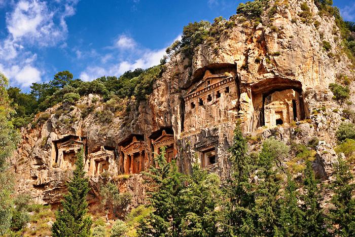 Pictures of Lycian Rock Tombs & Sites, Turkey - Stock Photos  Photos Gal...