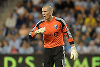 Troy Perkins (1) Goalkeeper Montreal Impact.<br /> Montreal Impact defeated Sporting Kansas City 2-1 at Sporting Park, Kansas City, Kansas.
