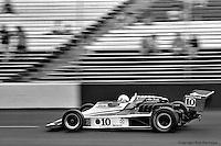 HAMPTON, GA - APRIL 22: Pancho Carter drives his Lightning 77/Cosworth TC during the Gould Twin Dixie 125 event on April 22, 1979, at Atlanta International Raceway near Hampton, Georgia.