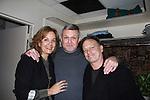 09-18-11 Justin Deas, Margaret Colin, Kim Zimmer visit Ron Raines in Follies, NYC