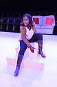 """London, UK. 06.07.2016. Damsel Productions presents, Soho Young Writer Award Winner, Phoebe Eclair-Powell's play """"Fury"""" at Soho Theatre. Directed by Hannah Bauer-King, with set design by Anna Reid, and lighting design by Natasha Chivers. Picture shows: Naana Agyel-Ampadu. Photograph © Jane Hobson."""