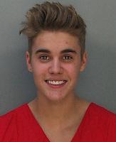 Justin Bieber mugshot after DUI arrest in Miami
