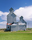 Grain Elevators, Cottonwood, South Dakota