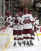 Ryan Donato (Harvard - 16) - The Harvard University Crimson defeated the St. Lawrence University Saints 6-3 (EN) to clinch the ECAC playoffs first seed and a share in the regular season championship on senior night, Saturday, February 25, 2017, at Bright-Landry Hockey Center in Boston, Massachusetts.