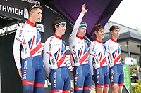 Picture by Alex Whitehead/SWpix.com 12/05/2017 -  Tour Series Round 3 Northwich - Men's Race - GBCT Great Britain Cycling Team