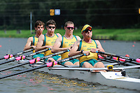 Amsterdam, NETHERLANDS, AUS BM4X,  2011 FISA U23 World Rowing Championships, Wednesday, 20/07/2011 [Mandatory credit:  Intersport Images]