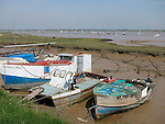 Boats, Felixstowe Ferry, Suffolk, UK