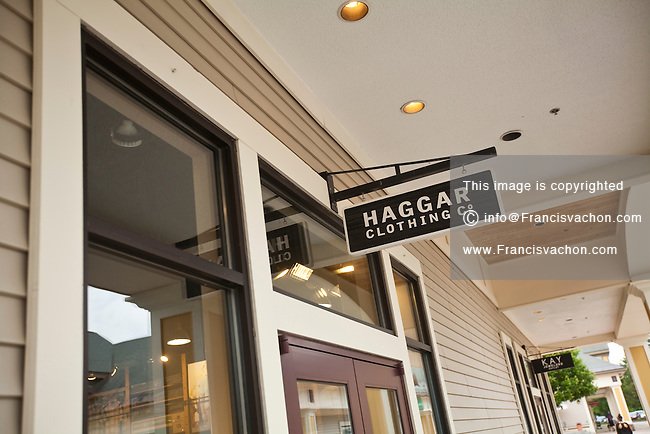 Haggar Clothing store is pictured at the Settlers Green Outlet