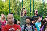 2013/07/09 Berlin | Volkszorn in Hellersdorf gegen Flüchtlingsheim