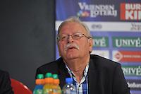VOETBAL: ABE LENSTRA STADION: HEERENVEEN: 27-08-2013, Presentatie nieuw Stichtingsbestuur, Rikus de Vries (Aktie '67), ©foto Martin de Jong