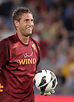 Calcio, Serie A: Roma-Catania. Roma, stadio Olimpico, 26 agosto 2012..AS Roma goalkeeper Maarten Stekelenburg, of the Netherlands, smiles prior to the start of the Italian Serie A football match between AS Roma and Catania, at Rome, Olympic stadium, 26 August 2012. .UPDATE IMAGES PRESS/Riccardo De Luca