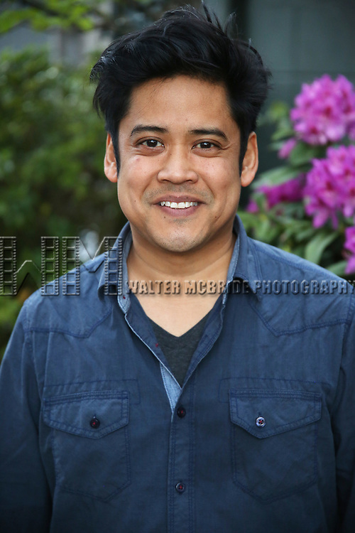 Flordelino Lagundino attends The Drama League Meet The Directing Fellows Hosted By Stewart F. Lane & Bonnie Comley at a private residence on May 15, 2017 in New York City.