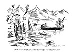"""""""Perhaps sending Red Cloud to Cambridge was a big mistake."""""""