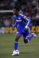 Kei Kamara...Kansas City Wizards defeated Colorado Rapids 1-0 at Community America Ballpark, Kansas City,Kansas.