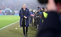 FUSSBALL CHAMPIONS LEAGUE SAISON 2016/2017 GRUPPENPHASE FC Basel - Arsenal London            06.12.2016 Trainer Arsene Wenger (Arsenal London)