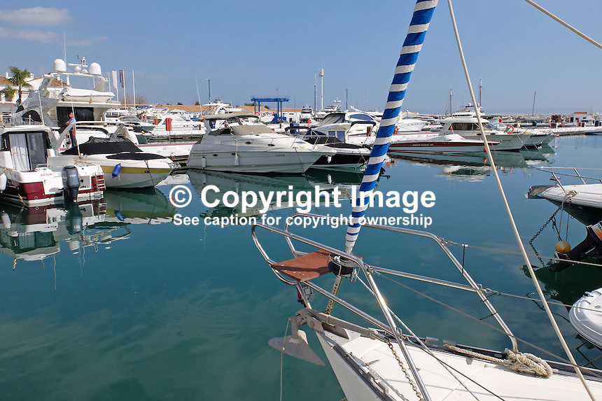 Marina, Puerto Banus, Marbella, Malaga Province, Spain, March 2015, 201503160606<br /> <br /> Copyright Image from Victor Patterson, 54 Dorchester Park, Belfast, UK, BT9 6RJ<br /> <br /> t: +44 28 9066 1296<br /> m: +44 7802 353836<br /> vm +44 20 8816 7153<br /> <br /> e1: victorpatterson@me.com<br /> e2: victorpatterson@gmail.com<br /> <br /> www.victorpatterson.com<br /> <br /> IMPORTANT: Please see my Terms and Conditions of Use at www.victorpatterson.com