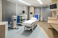 A medical treatment room at an outpatient treatment facility in Oak Brook, IL.