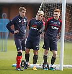 Lewis Mayo, Martyn Waghorn and David Bates
