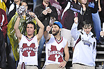 Mississippi State fans ring cowbells at Ole Miss vs. Mississippi State in Starkville, Miss. on Saturday, November 26, 2011. Mississippi State won 31-3.