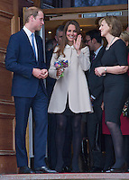 Kate, Duchess Of Cambridge & Prince William visit the Claire Centre - London