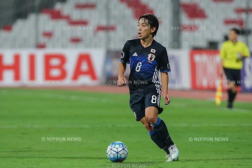 Koji Miyoshi (JPN), OCTOBER 30, 2016 - Football / Soccer : AFC U-19 Championship Bahrain 2016 Final match between Japan 0(5-3)0 Saudi Arabia at Bahrain National Stadium in Riffa, Bahrain. (Photo by AFLO)