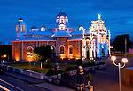 Costa Rica / Cartago / Basilica de Nuestra Senora de Los Angeles / Religious Center / Black Madonna / 'La Negrita' / Dusk