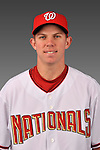 14 March 2008: ..Portrait of Rick Nolan, Washington Nationals Minor League player at Spring Training Camp 2008..Mandatory Photo Credit: Ed Wolfstein Photo
