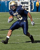03 November 2007: Pitt running back Conredge Collins..The Pitt Panthers defeated the Syracuse Orange  20-17 on November 03, 2007 at Heinz Field, Pittsburgh, Pennsylvania.
