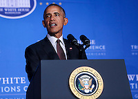 SEP 26 US President Barack Obama attends the 2016 White House Tribal Nations Conference