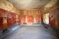 Roman Frescos of Pompei arhaeological site.
