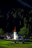 Adlerweg, Tirol, Austria, August 2005. The Villageof boden. The Adlerweg (eagles trail) is the new long distance hiking trail in Austria. The Adlerweg connects existing paths throughout Tirol, in the shape of an eagle, Tirol's provincial symbol. Photo by Frits Meyst/Adventure4ever.com