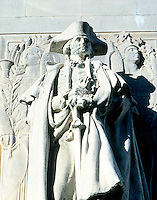 ACID RAIN DAMAGE TO STATUE OF WASHINGTON -After - Washington as Commander-in-Chief<br />
