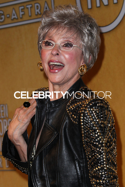 LOS ANGELES, CA - JANUARY 18: Rita Moreno in the press room at the 20th Annual Screen Actors Guild Awards held at The Shrine Auditorium on January 18, 2014 in Los Angeles, California. (Photo by Xavier Collin/Celebrity Monitor)