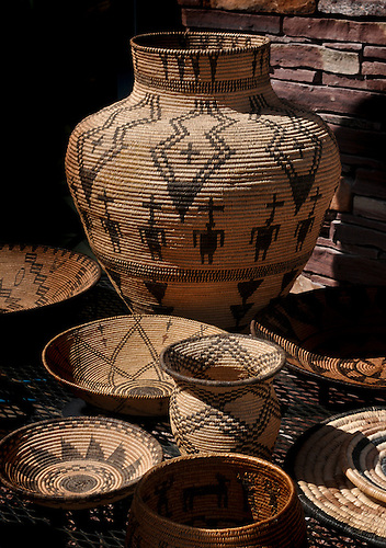 APACHE  TOHONO O'odham, HOPI WEAVES, HISTORIC-CONTEMPORARY