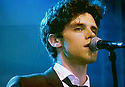 Glastonbury Festival on the BBC. Noah and The Whale - Charlie Fink