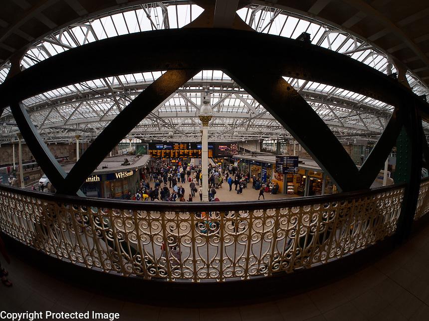 Waverley Station Edinburgh Scotland Waverley Station Edinburgh Scotland no 1 John Van Horn
