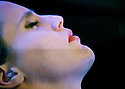 Glastonbury Festival on the BBC. Anna Calvi