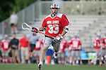 09 May 2015: Ohio State's Kacy Kapinos. The Duke University Blue Devils hosted the Ohio State University Buckeyes at Koskinen Stadium in Durham, North Carolina in a 2015 NCAA Division I Men's Lacrosse Tournament First Round match. Ohio State won the game 16-11.