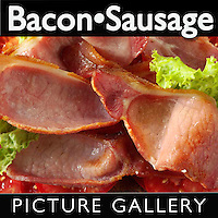 Sausages & Bacon | Bacon Food Pictures Photos Images & Fotos