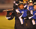 Oxford High band performs vs. Center Hill in Oxford, Miss. on Friday, September 23, 2011.
