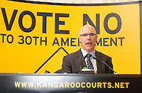 NO REPRO FEE. 252/10/2011. VOTE NO TO THE 30TH AMENDMENT. Pictured at a public meeting about sound reasons to Vote No to the 30th Amendment to the Constitution (Oireachtas Inquiries) hosted by the Irish council for Civil Liberties at the National Library Kildare St. Dublin is Peter Mullen Joint Managing Partner, Garrett Sheehan and Partners. Picture James Horan/Collins Photos.