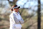 BROWNS SUMMIT, NC - APRIL 01: UNCG head coach Janell Howland. The first round of the Bryan National Collegiate Women's Golf Tournament was held on April 1, 2017, at the Bryan Park Champions Course in Browns Summit, NC.