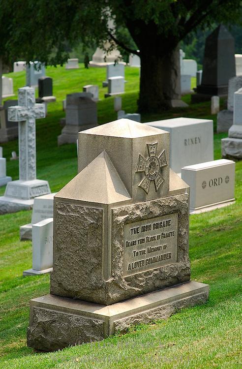 Major General John Gibbon Monument, Iron Brigade, Arlington National Cemetery, Arlington, Virginia