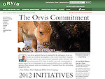 Nelson Kenter photo of bison cow and calf used on Orvis website for promotion of preserving bison wintering grounds