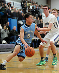 3-5-15, Devon Simons - Skyline High School basketball