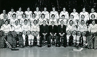 California Golden Seals hockey team (1974-75) photo by Ron Riesterer