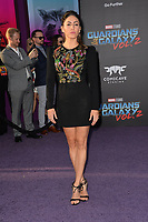 Natalia Cordova-Buckley at the world premiere for &quot;Guardians of the Galaxy Vol. 2&quot; at the Dolby Theatre, Hollywood. <br /> Los Angeles, USA 19 April  2017<br /> Picture: Paul Smith/Featureflash/SilverHub 0208 004 5359 sales@silverhubmedia.com