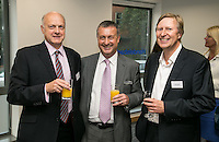 From left are Richard Longley of Longley & Co, Richard Altoft of Handelsbanken and John Bexon of Bexons