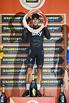 Michal Kwaitkowski (POL) Team Sky wins the 108th edition of Milan-San Remo 2017 by NamedSport the first Classic Monument of the season running 291km from Milan to San Remo, Italy. 18th March 2017.<br /> Picture: La Presse/Simone Ferraro | Cyclefile<br /> <br /> <br /> All photos usage must carry mandatory copyright credit (&copy; Cyclefile | La Presse)