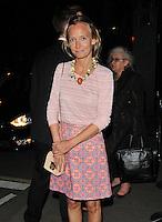 JUL 29 Dinner with Iris Apfel, at Annabel's, Berkeley Square